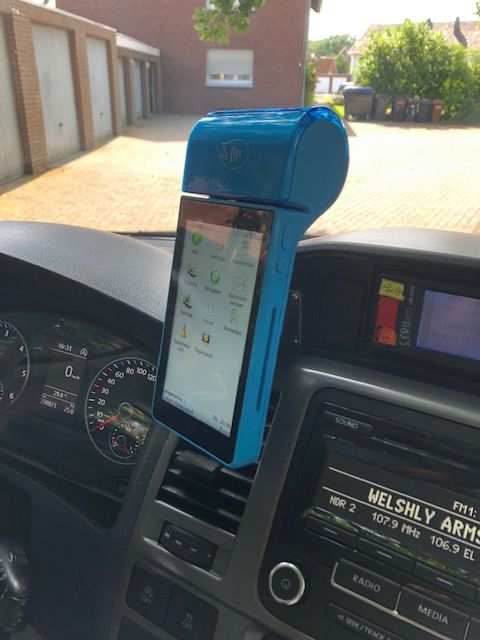 Bei Taxi Hundertmark in Lingen ab sofort bargeldlos bezahlen!