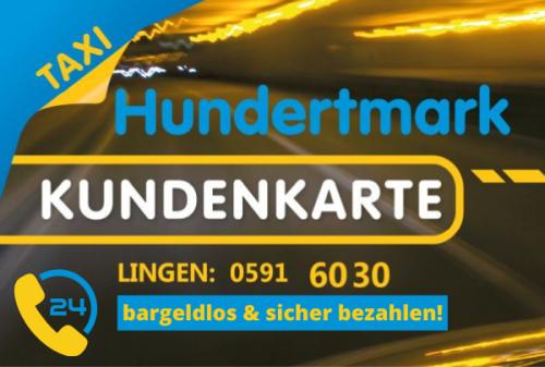 Taxi Hundertmark Kundenkarte