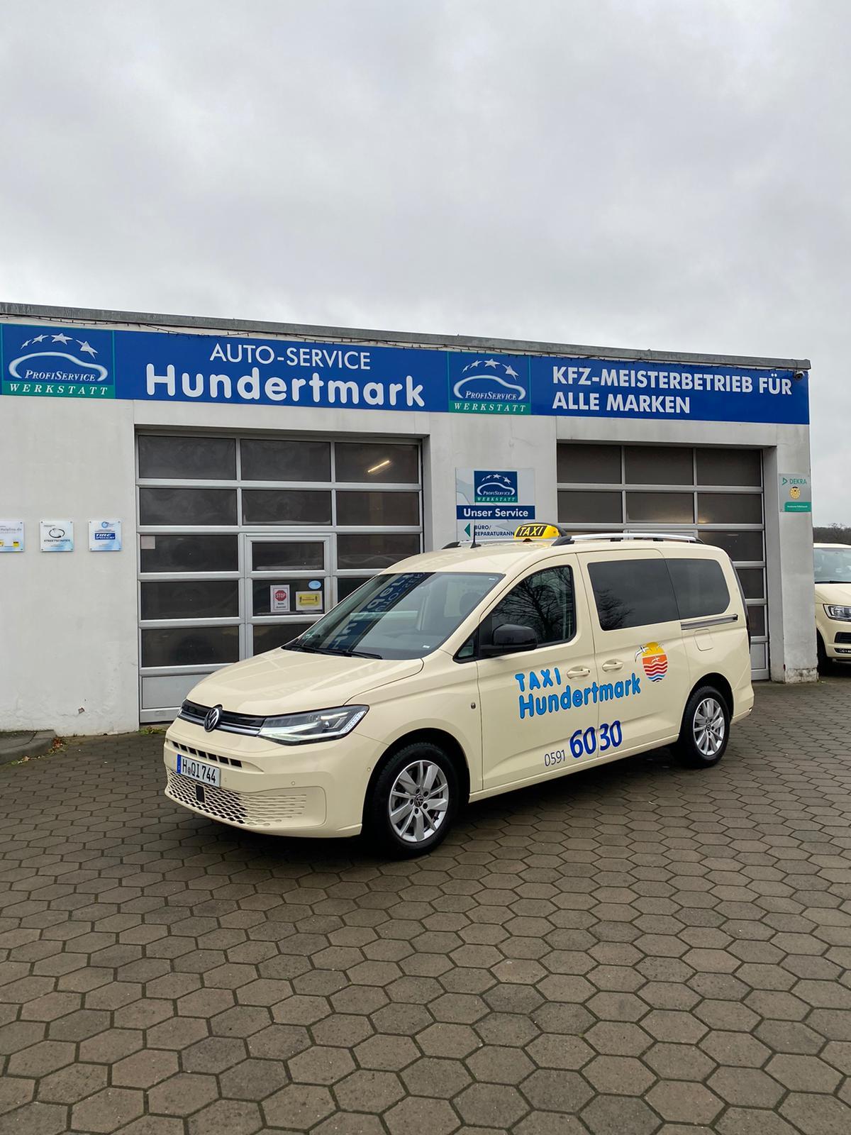 Caddy 5 Taxi Maxi bei Taxi Hundertmark in Lingen